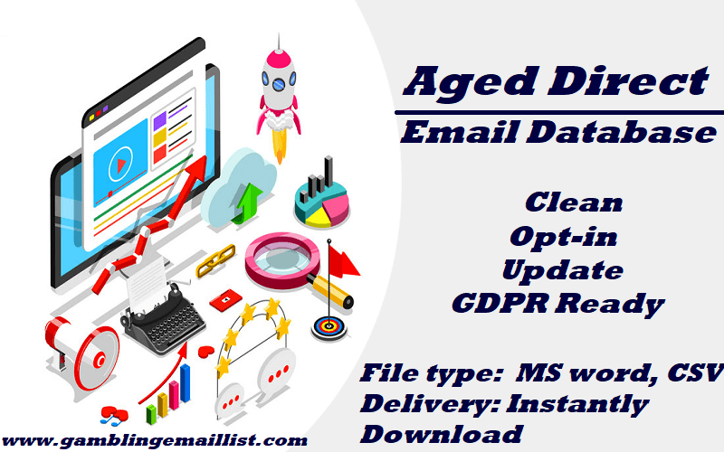 Aged Direct Email List
