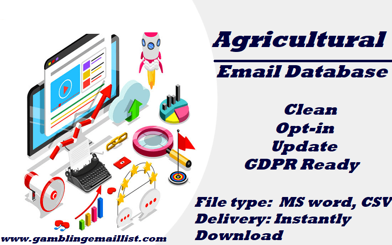 Agricultural Email List