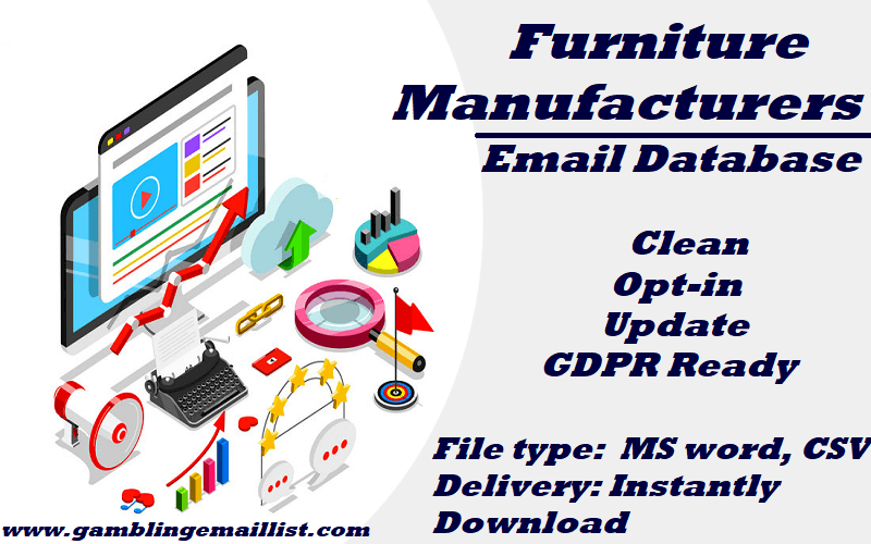Furniture Manufacturers Email List