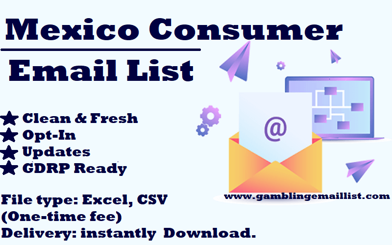 Mexico Consumer Email List