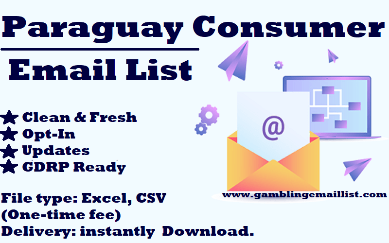 Paraguay Consumer Email List