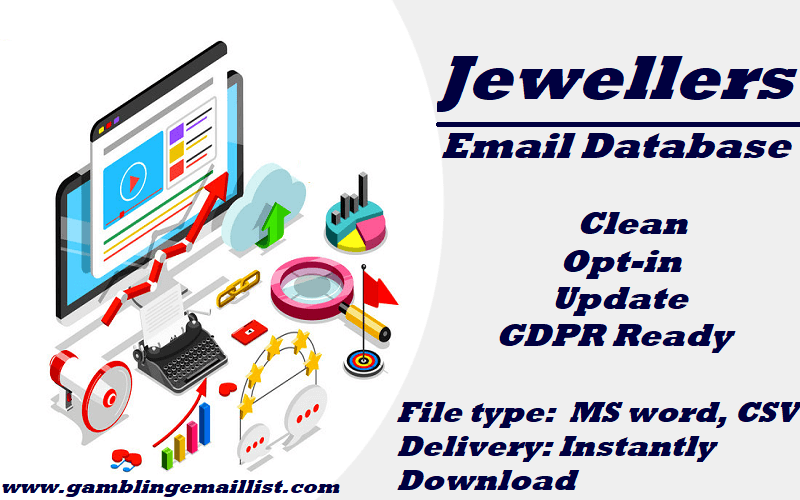 Jewellers Email List